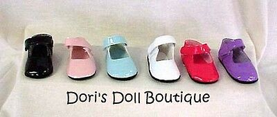 Doll Clothes fits American Girl *  WHITE MARY JANE SHOES * Free USA Shipping!!! on Rummage