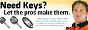 Car Keys, FOBS, Remotes WE COME TO YOU!