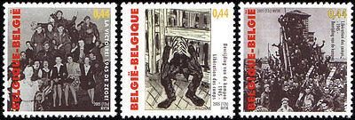 Belgien**Befreiung KZ LAGER-3 Mkn-Jahrestag 2.Weltkrieg 1940-45-2005-Military