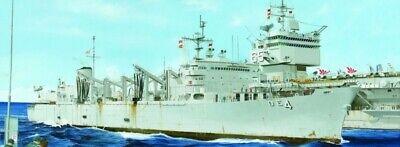 Aoe Cargador Rápido Combat Apoyo Ship Uss Detroit (AOE-4) Batalla 1:700 Modelo