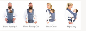 BECO GEMINI-multi-position soft structured carrier