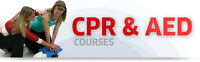 CPR and AED CERTIFICATION COURSES