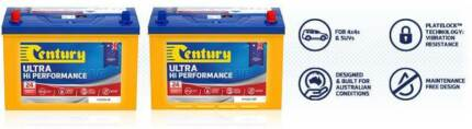 CENTURY N70ZZLX MF 4WD BATTERY A MASSIVE 810 CCA BUILT TOUGH FOR