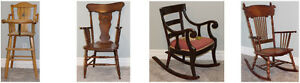 Antique Chairs - 4 for $360.00