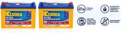 CENTURY N70ZZX MF 4WD BATTERY A MASSIVE 810 CCA BUILT TOUGH FOR A