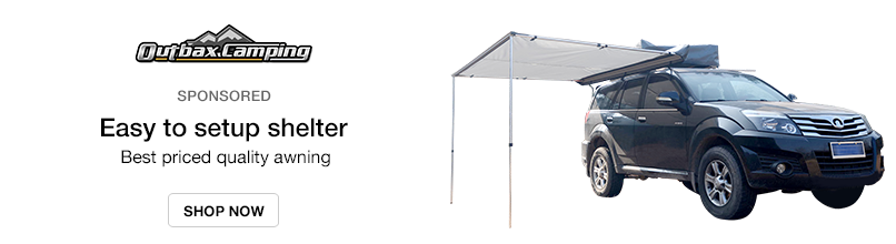 Outbax Camping: Easy to setup shelter - Best priced quality awning