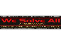 Computer * Mobile Phone * Tablet * Gaming Console * PC * Repair Service * Free Parking