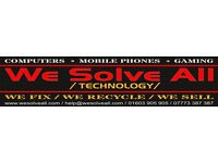 Computer * Mobile Phone * Tablet * Gaming Console * Repair Service * Free Parking