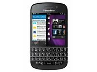 Blackberry Q10 - unlocked and as new in black