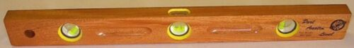 """48"""" Length  Trench / Utility Wood Level 3 Vials Port Austin 118T48 NEW"""