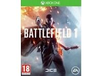 X BOX 1 **BATTLEFIELD 1 BRAND NEW** NEVER OPENED £35