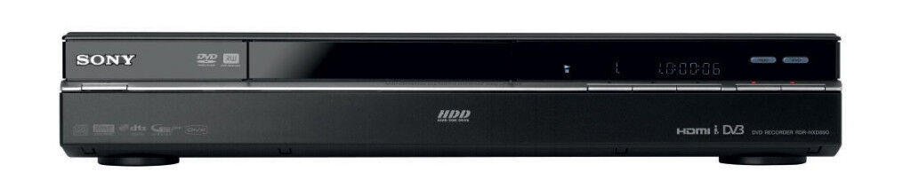 Sony DVD Player/recorder (160Gb HD) - Model: RDR HXD890