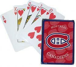 MONTREAL CANADIENS ........ NHL playing cards
