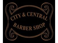 BARBER AT CITY & CENTRAL BARBER SHOP, LONDON, WEST END