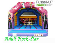 BOUNCY CASTLES, SLUSH PUPPY, POPCORN AND CANDY FLOSS, PHOTO BOOTHS AND MUCH MORE