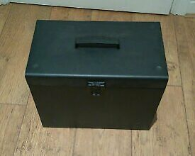 Metal Filing box black £10