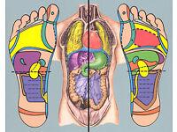 45mins Massage £30, 1hr Reflexology treatment for £15 until the end of September 2016
