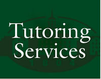 Tutor for grades 1 to 9. Special rates are available.