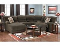 5 piece home theater sectional