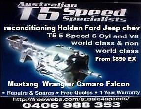 Ford Falcon AU BA XR8 t5 full conversion kit from auto to manual