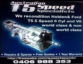 HOLDEN AND FORD T5 GEARS NEW AND USED SYNCHROS CASES TAILS Belmore Canterbury Area Preview