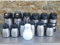 job lot of water jugs