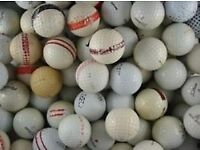 100 Range practice golf balls (USED) Post/Packaging incl with the Price