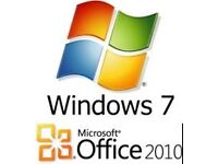 Windows 7 With Microsoft Office 2010 Installed - Only £25