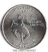 Wyoming State Quarter