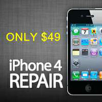 iPhone 4 & 4s Glass & LCD Repair