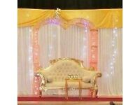 Gold Arch mainly used for weddings for sale