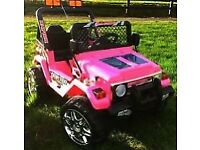 child's two seater electric jeep wanted