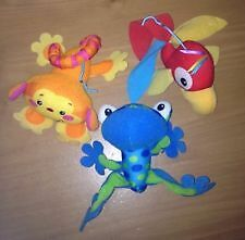 Fisher-Price Rainforest Replacement hanging animal toy set