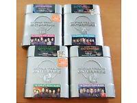Star Trek Enterprise (4 Seasons) in collectors DVD hard cases, as new £25 ono