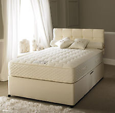 EXCLUSIVE SALE! Free Delivery! Brand New Looking! Double (Single + King Size) Bed &Med Plus Mattress