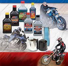 Amsoil Oil/Filters For Any Make or Model of motorcycle