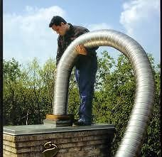 STOVE FLUE PIPES !!! FREE DELIVERY flexible chimney lining liner twinwall twin wall insulated