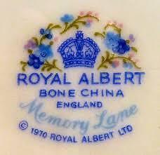 Memory Lane Royal Albert Bone China for sale Kingston Kingston Area image 2