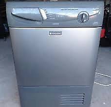 Hotpoint CTD40 7kg Silver Condenser Tumble Dryer 1 YEAR GUARANTEE