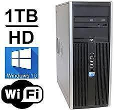 3rd Generation Gaming 12gig Ram intel i5 Quad Core 3570 HP 1000gb Hard USB 3.0 Windows 10 Wireless Intel HD Graphic $325