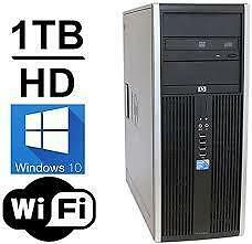 3rd Generation Gaming 12gig Ram intel i5 Quad Core 3570 HP 1000gb Hard USB 3.0 Windows 10 Wireless Intel HD Graphic $300