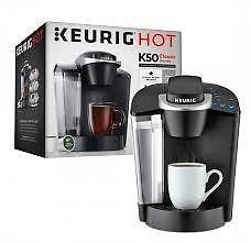 NEW IN BOX Keurig K50 Commercial  Hot Brewing System, Black
