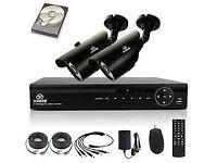 hd cctv camera kit system 4 channel nvr 4mp
