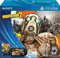 new ps vita with voucher for borderlands 2