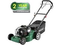 Qualcast 125cc Self-Propelled Petrol Rotary Lawn Mower - 41cm