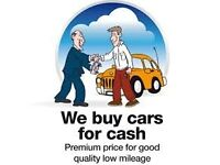 We want your un wanted car or van for cash ..