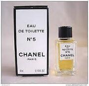 Chanel Miniature Perfume