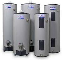 HOT WATER HEATER. AVOID A  FLOOD. ON DEMAND TANKLESS. POWER VENT