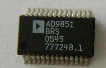 Cmos 180 Mhz Ddsdac Synthesizer Ic Ad9851brs Ad9851