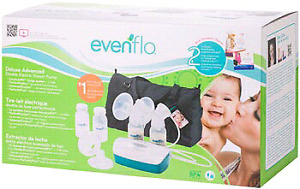 New Evenflo Double Electric Breast Pump